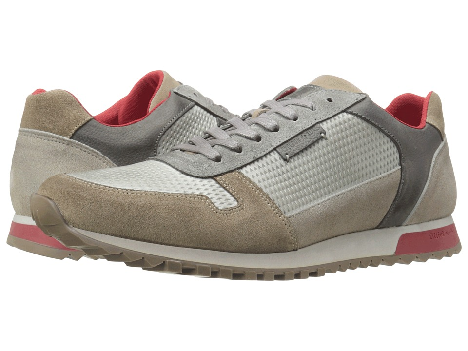 Cycleur de Luxe Dallas (Light Grey/Scarlet) Men