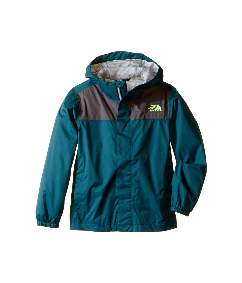 The North Face Kids - Zipline Rain Jacket (Little Kids/Big Kids) (Deep Teal Blue) Boy