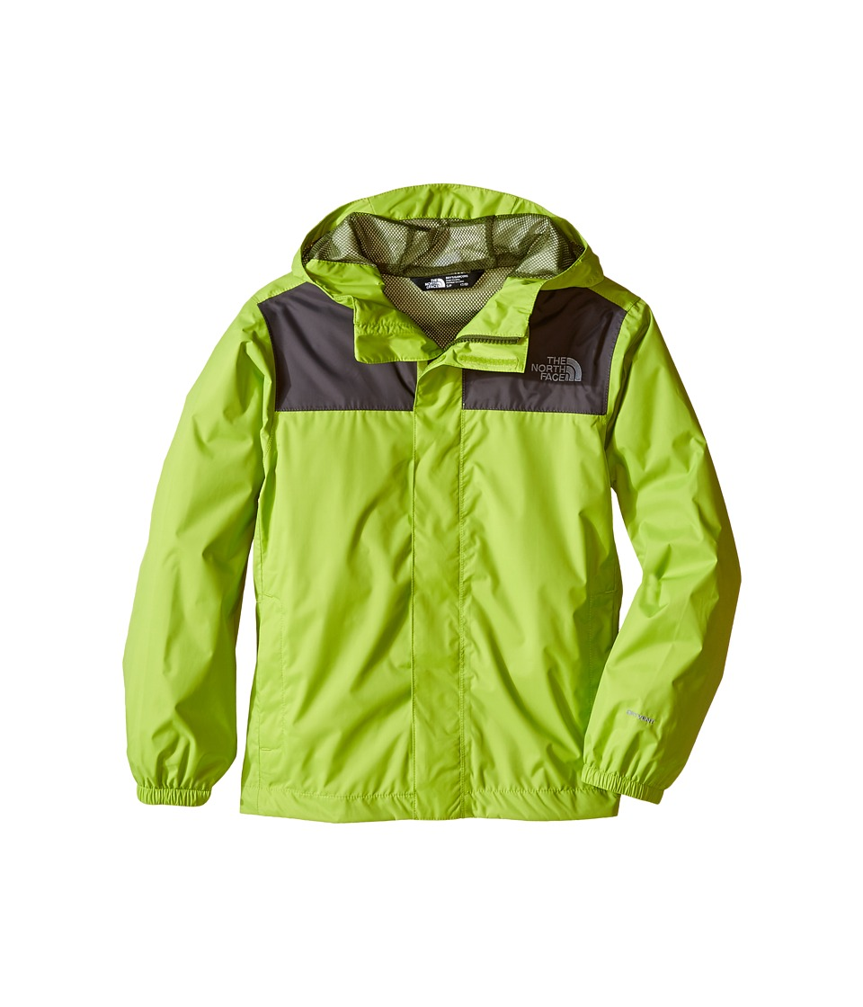 The North Face Kids - Zipline Rain Jacket (Little Kids/Big Kids) (Chive Green) Boy