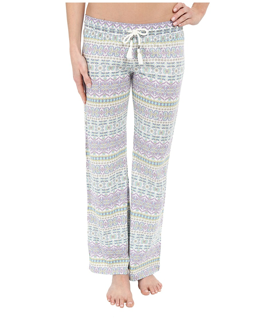 P.J. Salvage Boho Beauty Pants Mint Womens Pajama