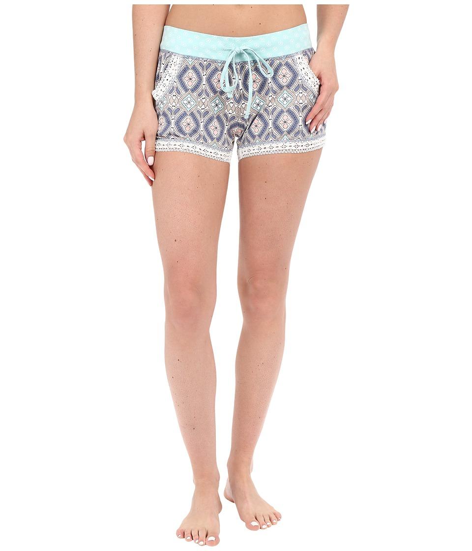 P.J. Salvage Miss Matched Sleep Shorts Natural Womens Pajama