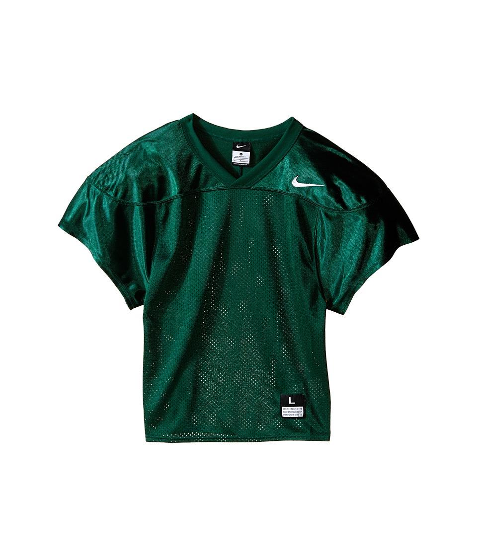 Nike Kids Core Practice Football Jersey Big Kids Team Dark Green/Team White Boys Clothing
