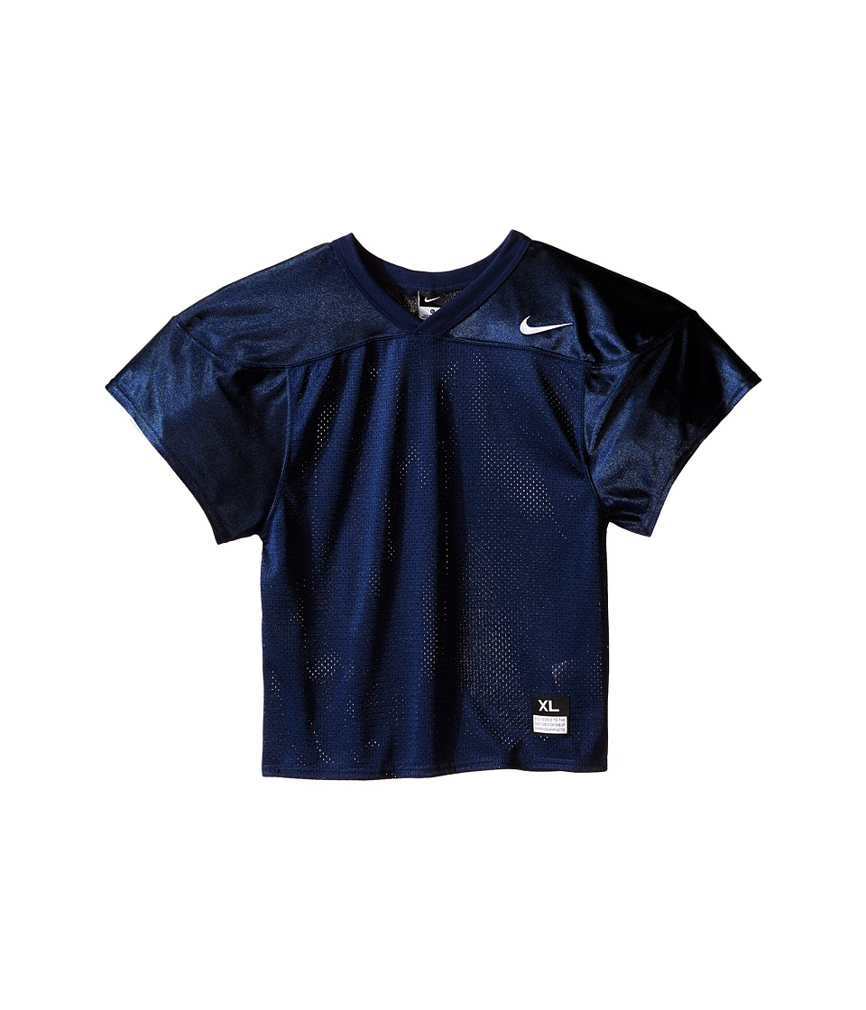 Nike Kids Core Practice Football Jersey Big Kids Team Navy/Team White Boys Clothing