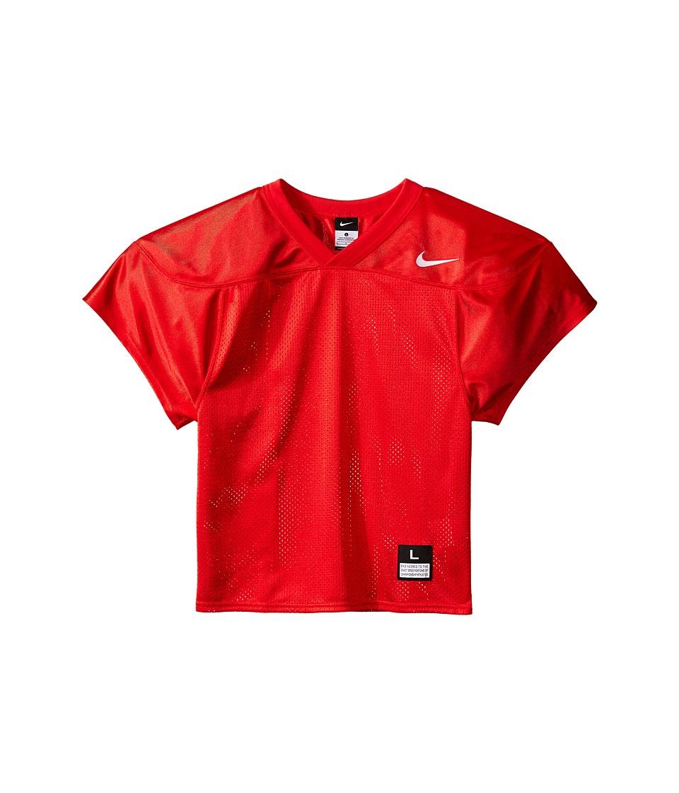 Nike Kids Core Practice Football Jersey Big Kids Team Scarlet/Team White Boys Clothing