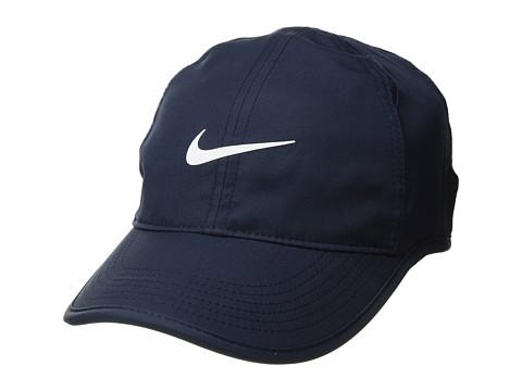 Nike Featherlight Cap - Obsidian/Obsidian/Black/White