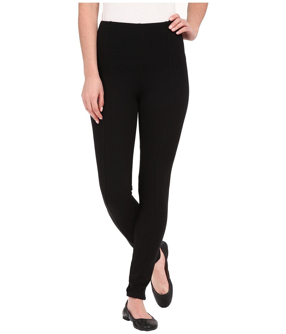 Lysse Clara Cotton Leggings Black Womens Casual Pants