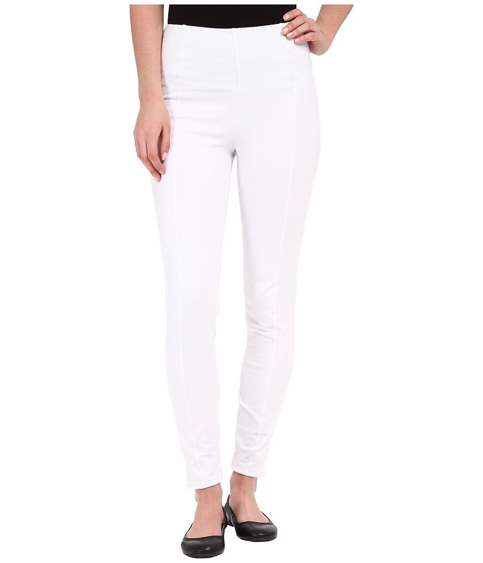 Lysse Clara Cotton Leggings White Womens Casual Pants