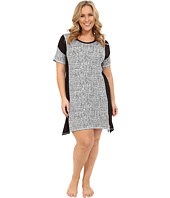 DKNY - Plus Size Urban Essentials Short Sleeve Sleepshirt