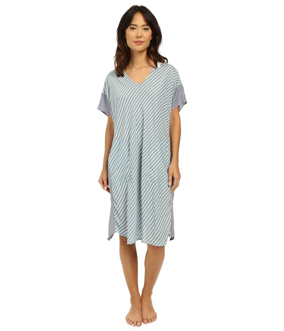 DKNY Spring Ahead Caftan Spa Stripe Womens Pajama