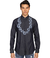 DSQUARED2 - Printed Lay Denim Shirt