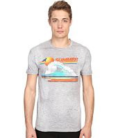 DSQUARED2 - Chic Dan Fit Vintage Rainbow Tee