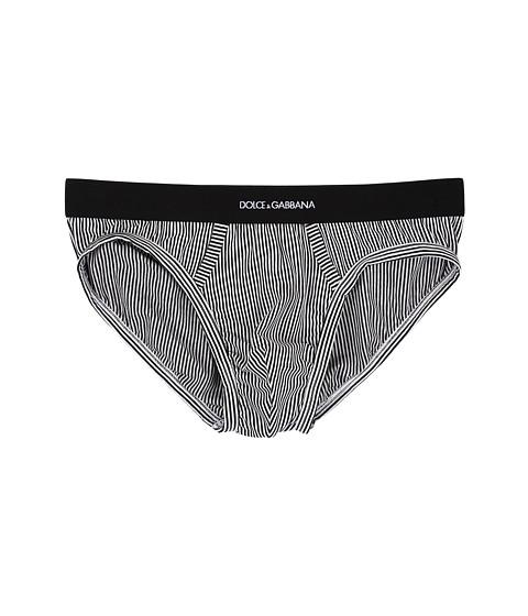 Dolce & Gabbana Stripes Midi Brief
