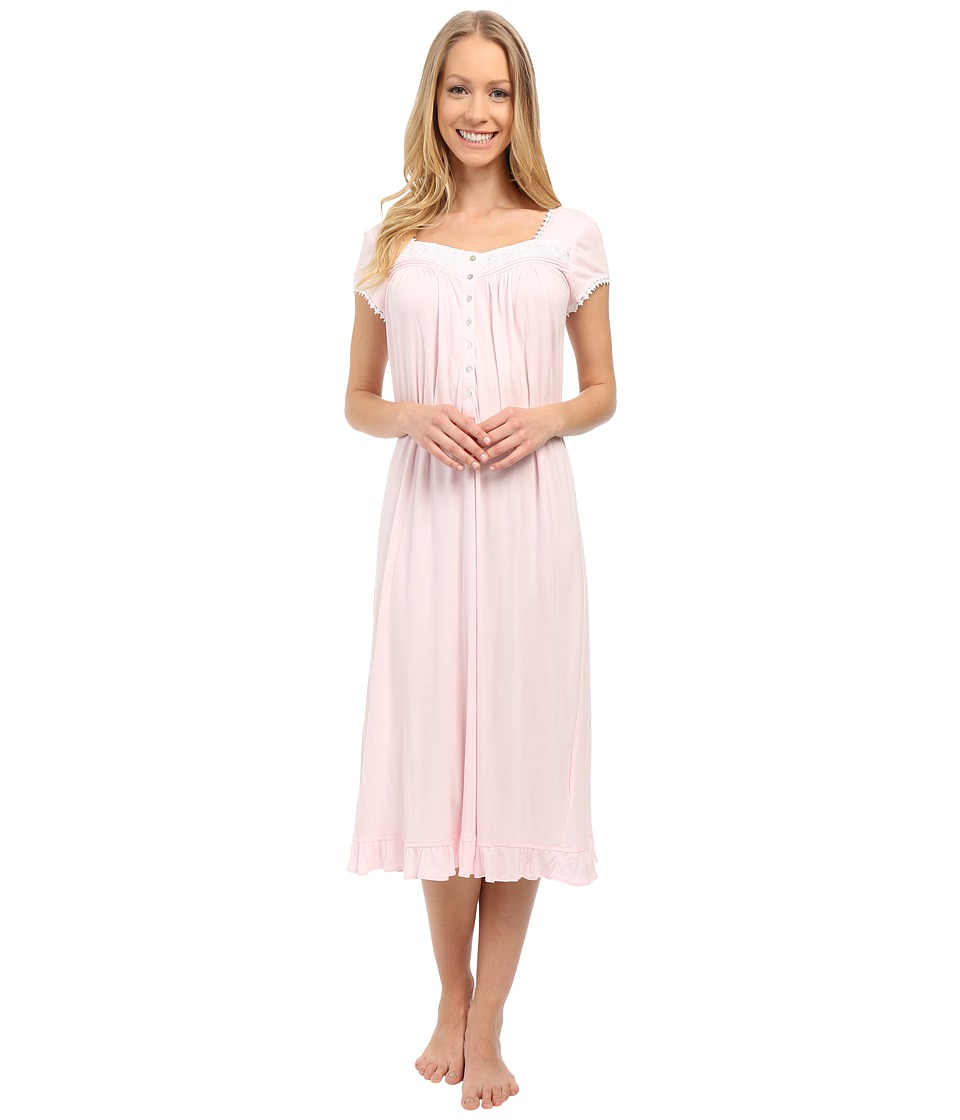 Eileen West Group Waltz Nightgown Solid Rose Womens Pajama