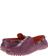 Etro - Crocodile Embossed Penny Loafer Mocassin