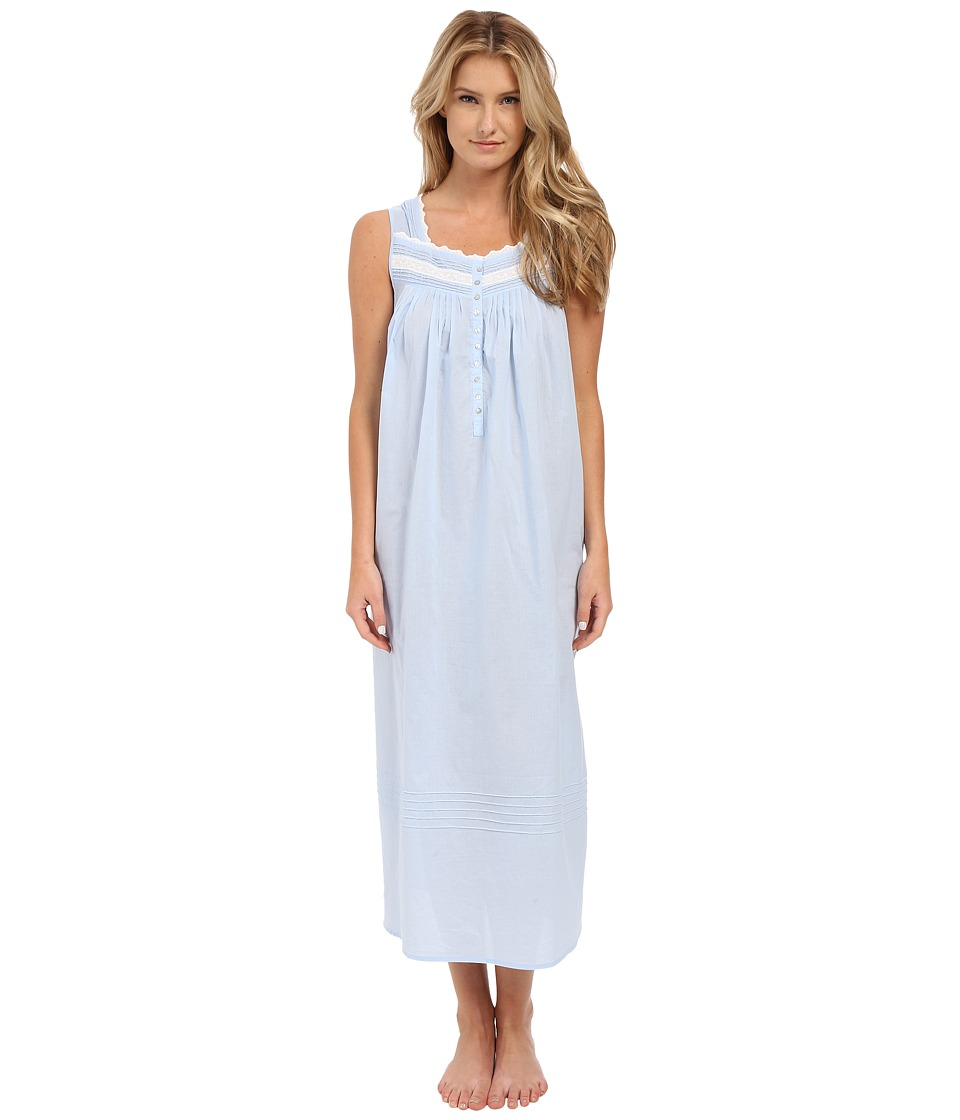 Eileen West Group Ballet Nightgown Sloid Light Blue Womens Pajama