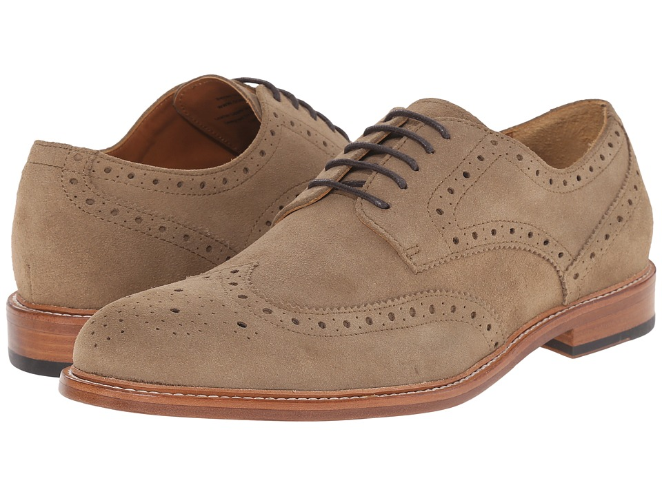 Gordon Rush Baines Sand Mens Lace Up Wing Tip Shoes