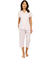 Eileen West - Group Notch Collar Capris PJ