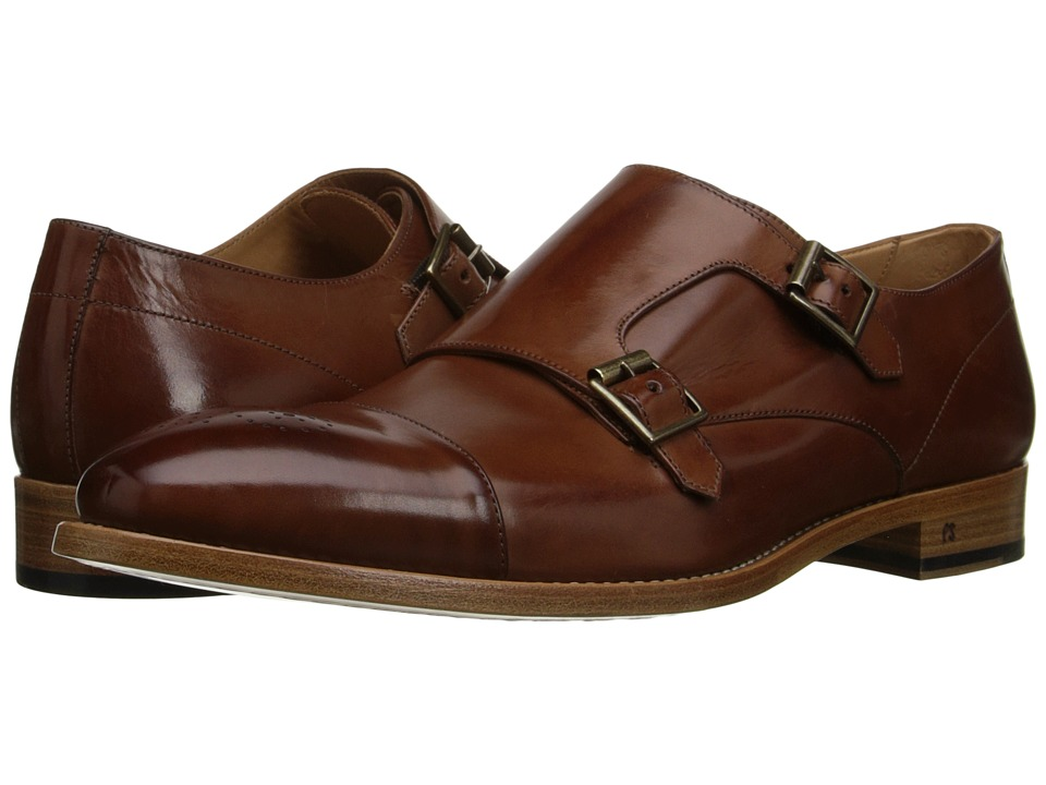 Paul Smith Atkins Monkstrap Tan Mens Monkstrap Shoes