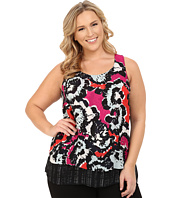 NIC+ZOE - Plus Size Art Pop Layer Top