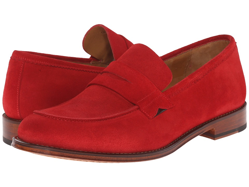 Paul Smith - PS Gifford Suede Loafer (Red) Men