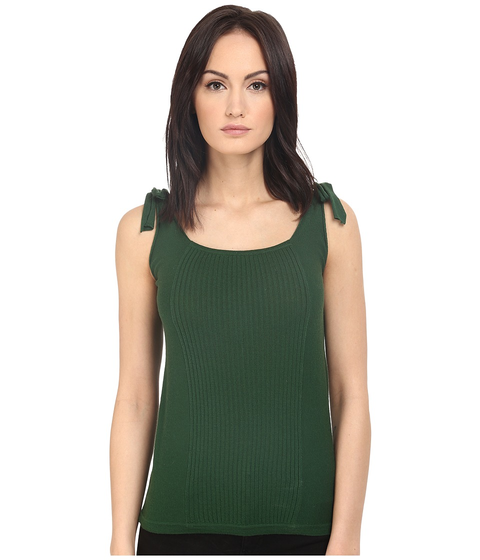 Paul Smith Black Label Shoulder Tie Tank Top Green Womens Sleeveless