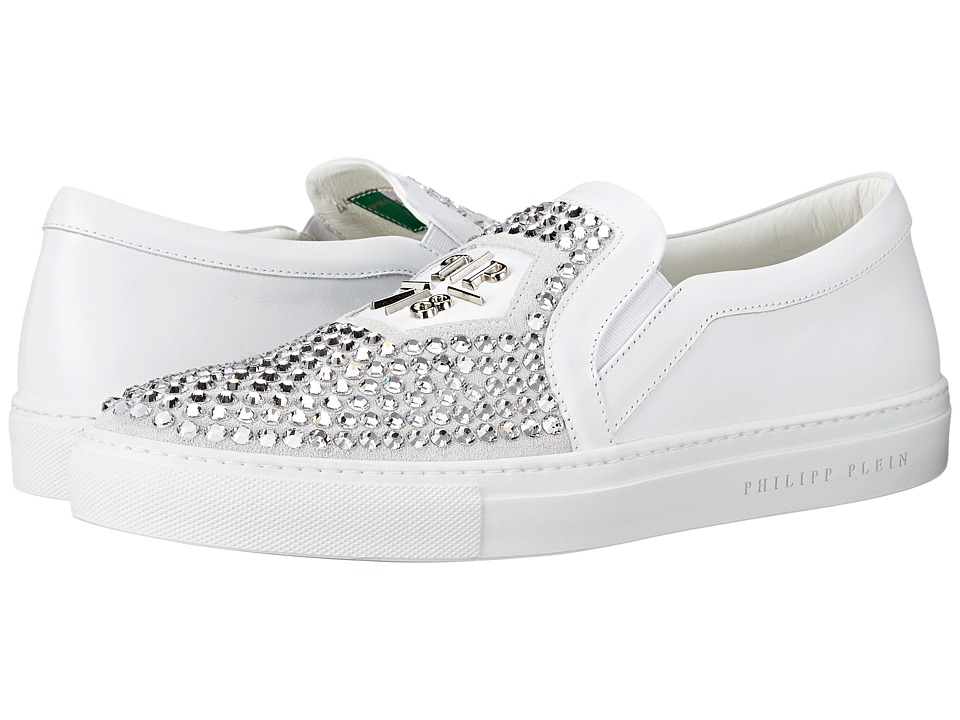 Philipp Plein Acting Crazy Sneaker White Mens Shoes