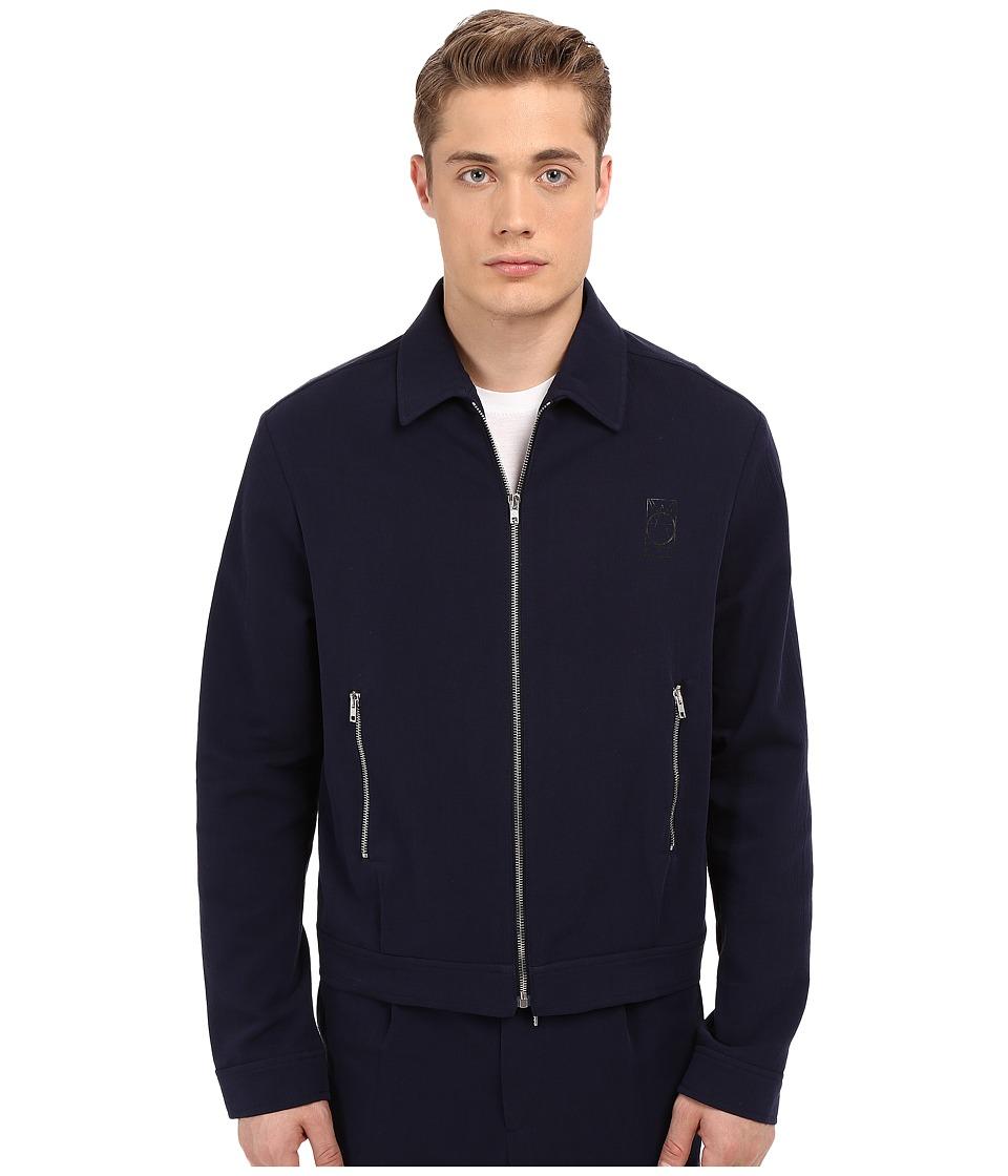 McQ Blouson Zip Shirt Jacket Midnight Navy Mens Coat