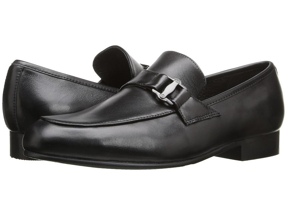 Venettini Kids 55 Ace 10 Little Kid/Big Kid Black Leather Boys Shoes