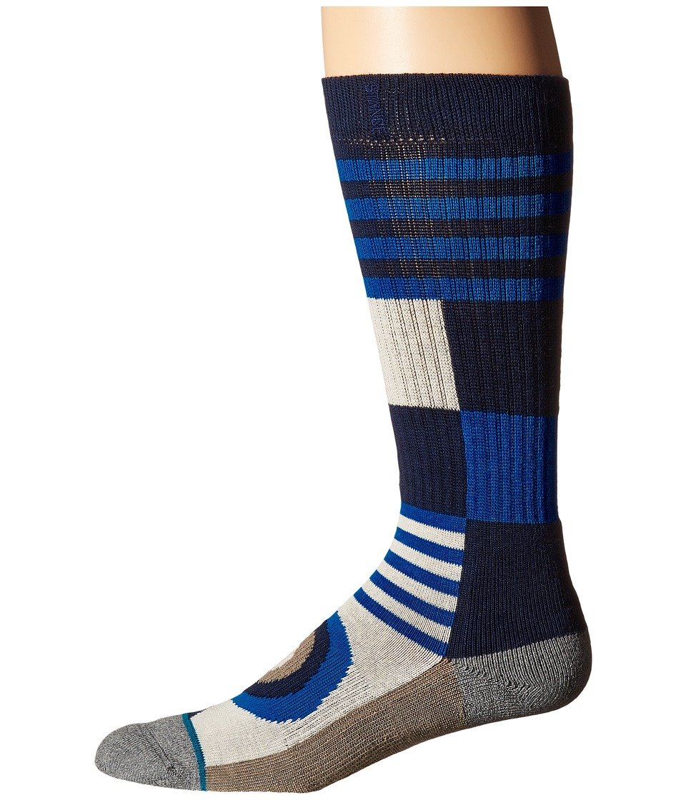 Stance Airgun Blue Mens Crew Cut Socks Shoes