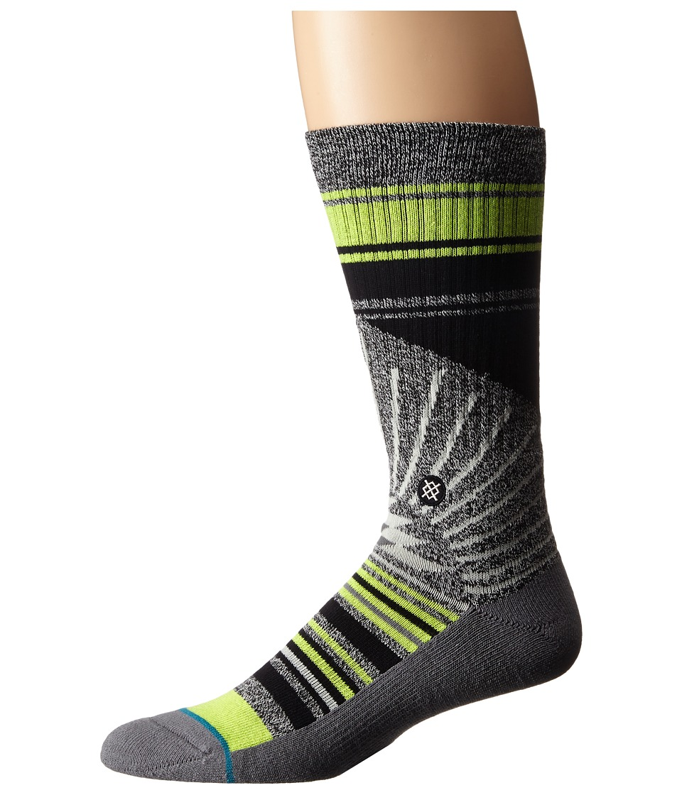 Stance Arecibo Grey Mens Crew Cut Socks Shoes