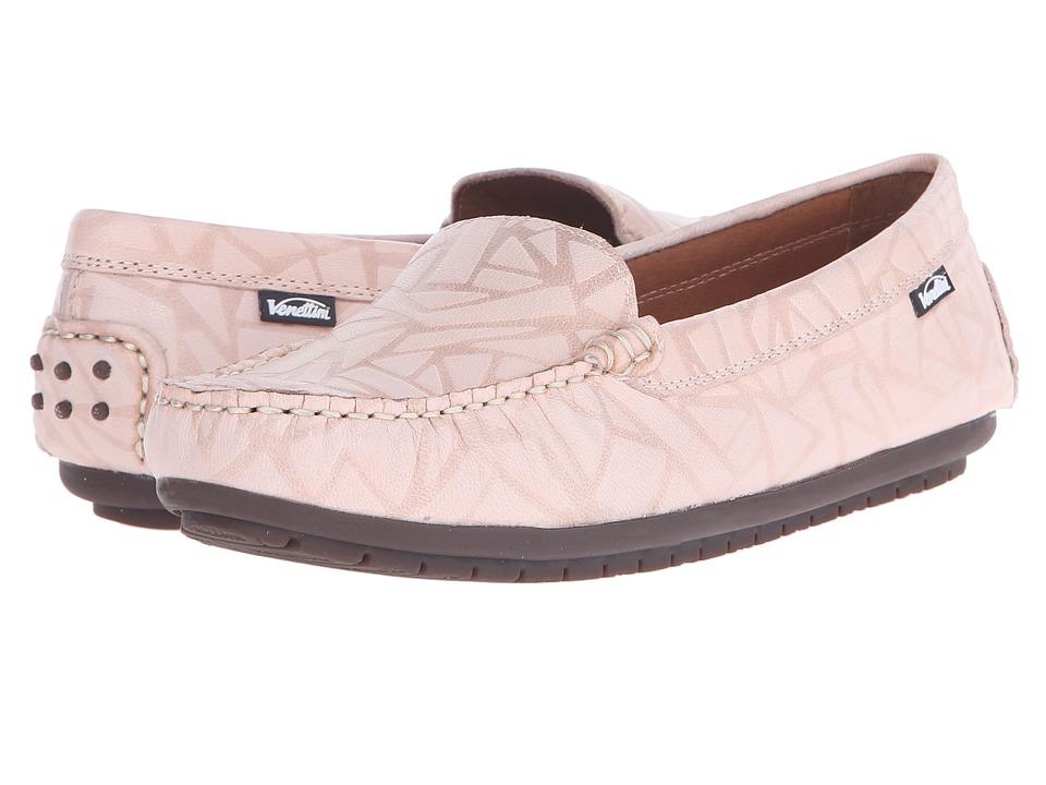Venettini Kids 55 Gordy Toddler/Little Kid/Big Kid Beige Glass Leather Girls Shoes