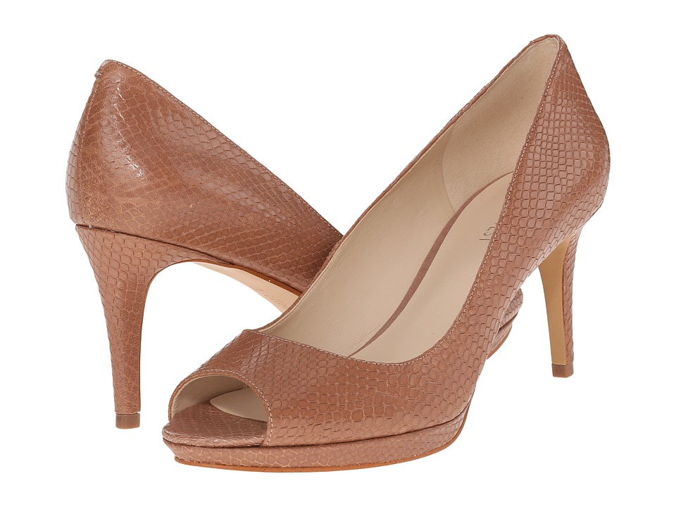 Nine West Gelabelle Natural Leather Womens Shoes