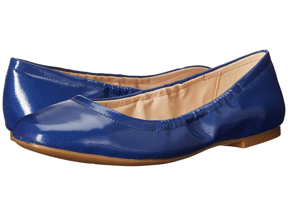 Nine West Girlsnite Dark Blue Synthetic Womens Flat Shoes