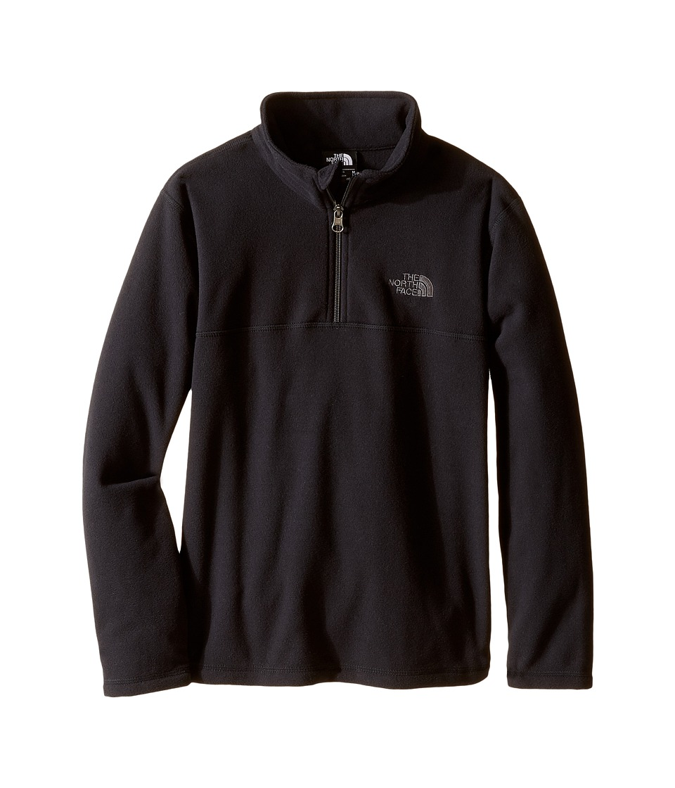 The North Face Kids - Glacier 1/4 Zip (Little Kids/Big Kids) (TNF Black) Boy