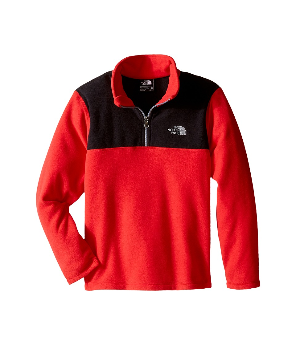 The North Face Kids - Glacier 1/4 Zip (Little Kids/Big Kids) (TNF Red) Boy