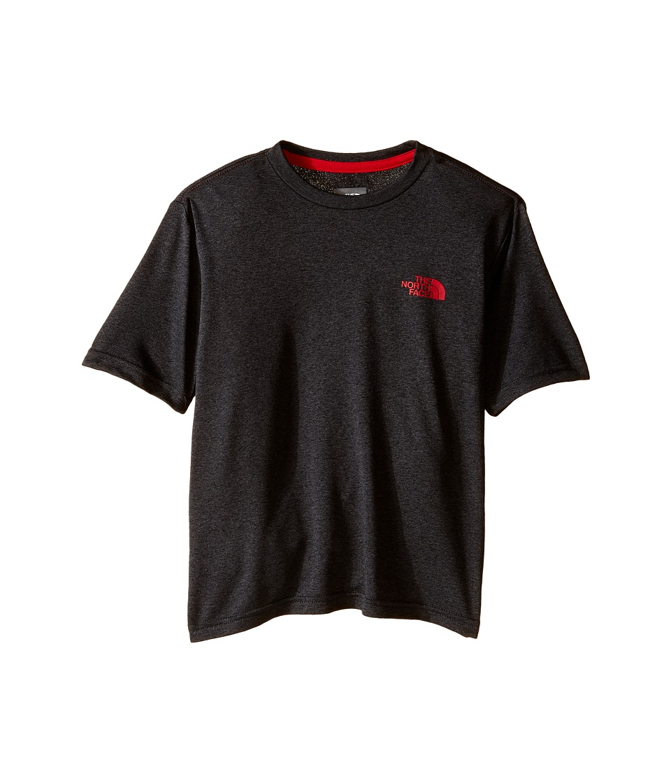 The North Face Kids Short Sleeve Reaxion Tee (Little Kids/Big Kids) (TNF Dark Grey Heather) Boy