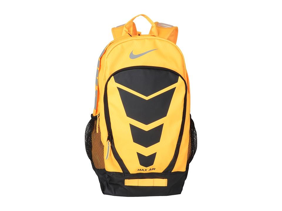 Nike - Max Air Vapor Backpack Large (Laser Orange/Black/Metallic Silver) Backpack Bags