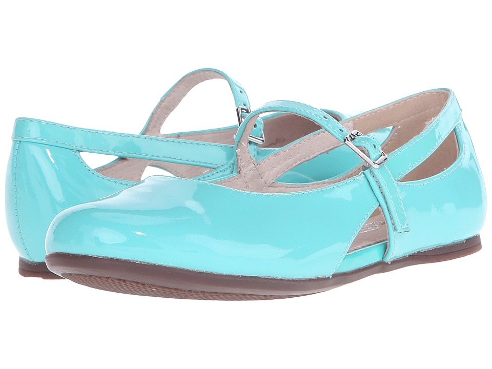 Venettini Kids 55 Donna Toddler/Little Kid/Big Kid Jade Patent Girls Shoes
