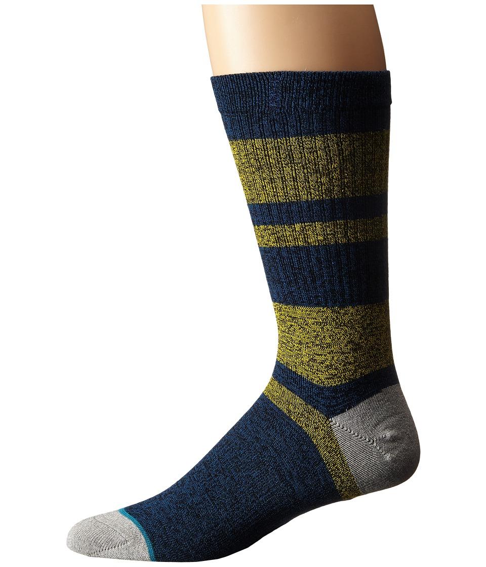 Stance El Cap Blue Mens Crew Cut Socks Shoes