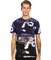 McQ - Dropped Shoulder Hyperfloral Tee