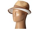 BCBGMAXAZRIA Pop Underbrim Panama Hat (Natural)