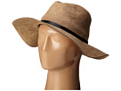BCBGMAXAZRIA Sueded Panama Hat (Natural)