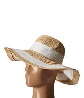 BCBGMAXAZRIA - Classic Stripe Panama Hat