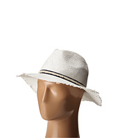 BCBGMAXAZRIA - Textured Ribbon Fedora Hat