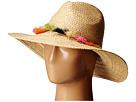 BCBGMAXAZRIA Tassel Panama Hat (Natural)