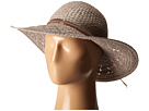 BCBGeneration Feather Chain Floppy Hat (Taupe)