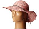 BCBGeneration Feather Chain Floppy Hat (Whisper Pink)
