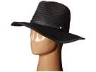 BCBGeneration Lace Brim Panama Hat (Black)