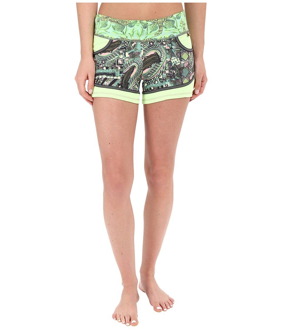 Maaji Flash Stone Active Shorts Multicolor Womens Shorts