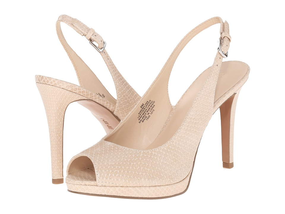 Nine West Emilyna Off White Womens Shoes